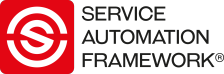 Service Automation Framework | Service Automation Framework Alliance Logo