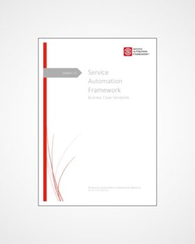 Service Automation Business Case | Service Automation Framework