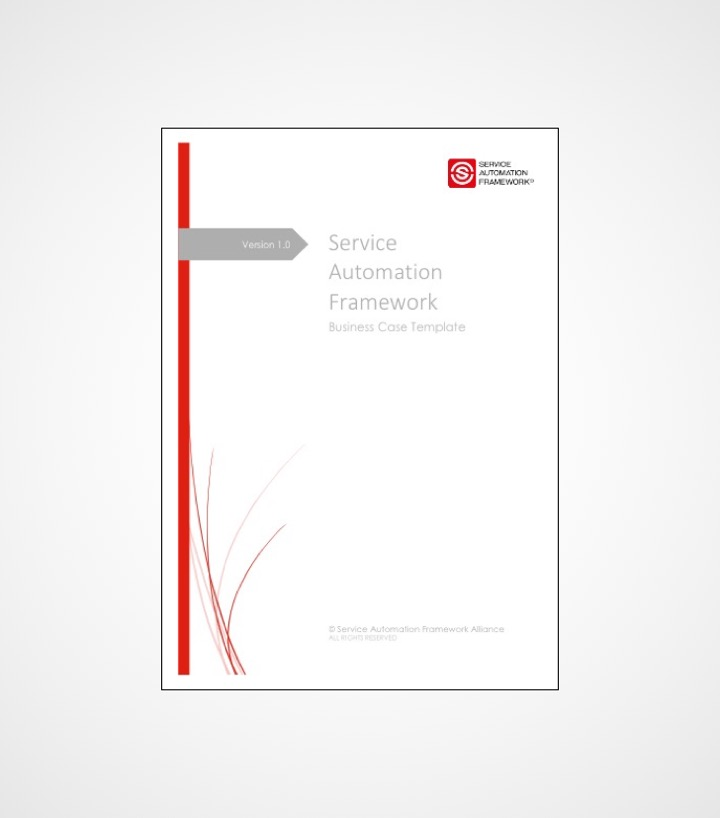 Service Automation Business Case Framework