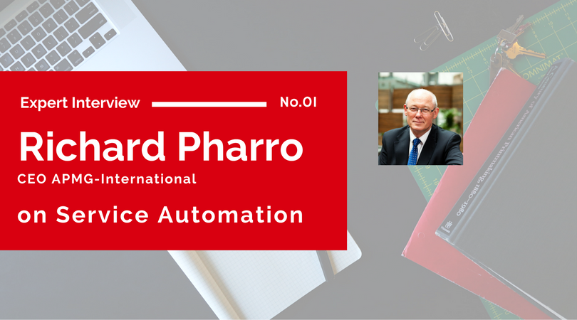 Expert Interview: Richard Pharro on Service Automation