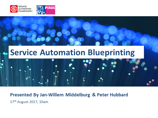 New Webinar: Service Automation Blueprinting
