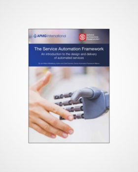 Service Automation Framework Whit Paper | An introduction to the Service Automation Framework