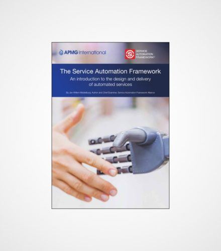 Service Automation Framework Whit Paper   An introduction to the Service Automation Framework