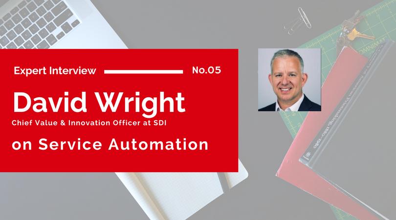 David Wright on Service Automation