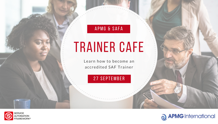 APMG and SAFA host Trainer Cafe on 27 September