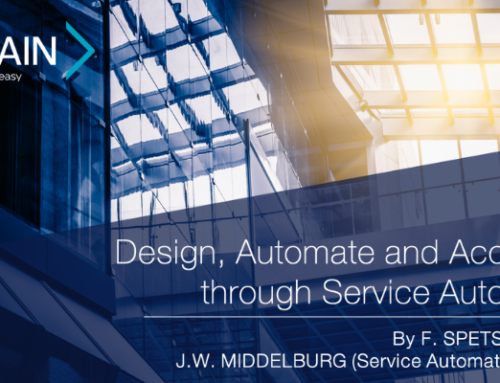 New White Paper – Design, Automate and Accelerate through Service Automation