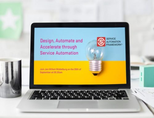 New Webinar: Design, Automate and Accelerate through Service Automation