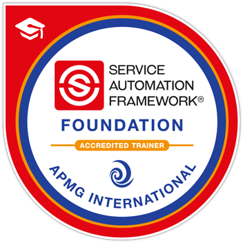 Service Automation Framework Badge