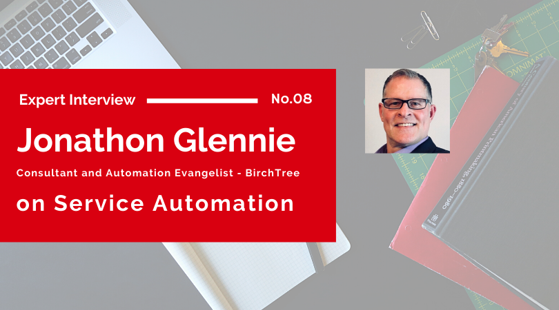 Expert Interview Service Automation with Jonathon Glennie